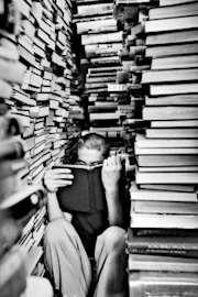 Djupt inne i böckernas värld