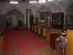 Barnbibliotek i Buchara, Uzbekistan.