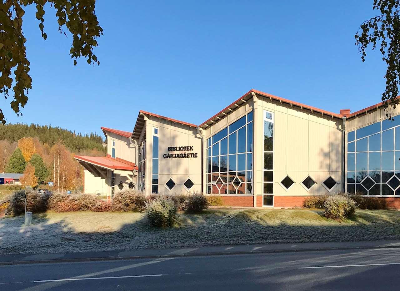 Dorotea biblioteks fasad